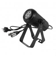 American DJ Micro Wash RGBW - Черная сверхъяркая прожекторная мини-система с 7 светодиодами