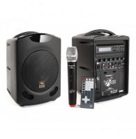 Proel FREE6 - Портативная акустическая система 30 Вт, со встроенным аккумулятором, CD/DVD/MP3, USB