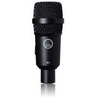 AKG P4 динамический микрофон для озвучивания барабанов, перкуссии и комбо