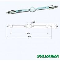 Sylvania BA2500DE(MSI2500) лампа газоразрядная, 2500W