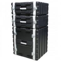 Accu case ACF-SP/ABS 12U двухдверный пластиковый рэковый кейс